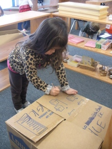 Labeling the boxes